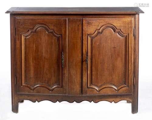 Buffet dressoir en chêne à 2 portes Louis XV