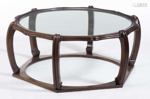 Table tambour ou siège de Bouddha en Huang Huali