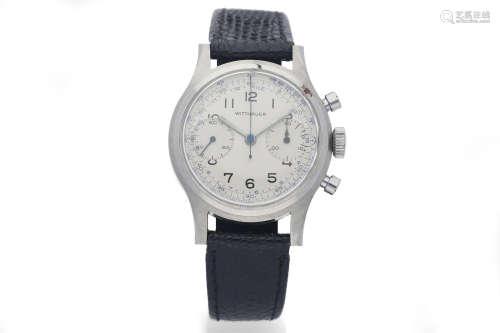 Wittnauer. A Steel Chronograph Wristwatch