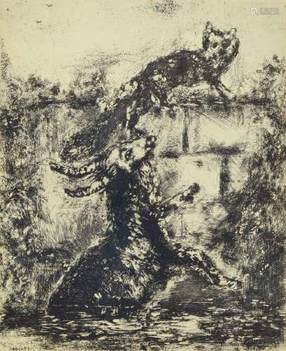 Marc Chagall, 1887-1985, etching from the series