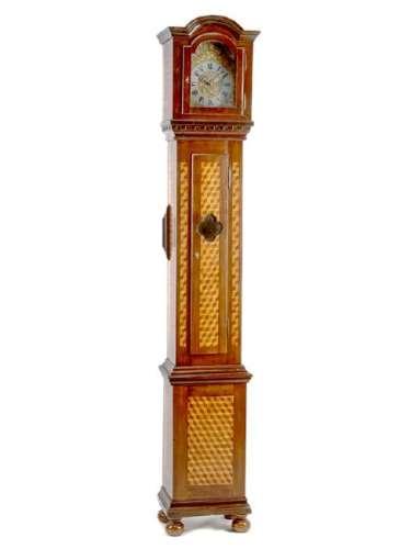 A Louis XVI Style Parquetry Tall Case Clock