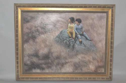 Contemporary Chinese Oil Painting, Huang ChaoCheng