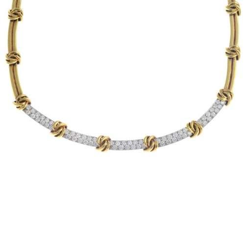 TIFFANY & CO. - a diamond necklace. Designed as a