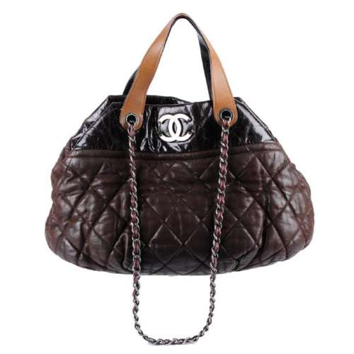 CHANEL - an In-The-Mix handbag. Designed with a