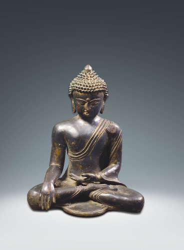 明  銅釋迦牟尼佛坐像