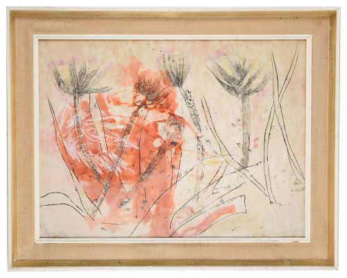 Althea McNish (Brit., b.1933) 'Tropical fish among coral'