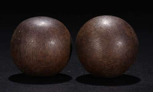 CHENXIANG WOOD EXERCISE BALL FOR 2