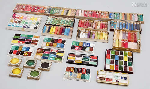 天然颜料、岩绘具 (二十六盒)