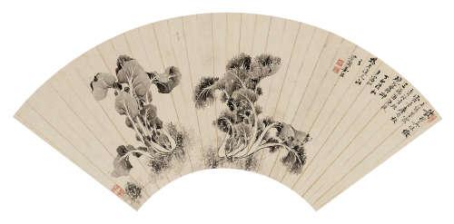 姜桂 1927年作 真味 镜心 水墨纸本