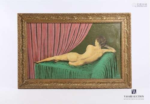 PETIT Jean Pierre (XXème siècle) Le repos de Franç…