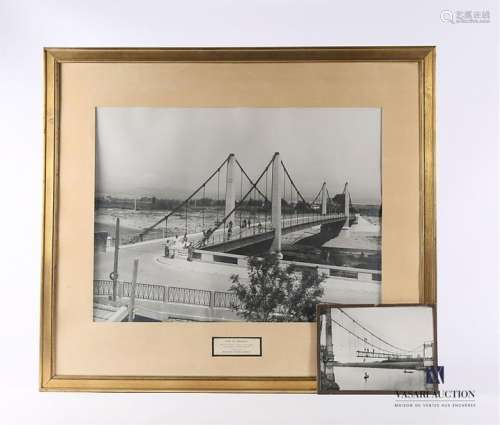 Photographie représentant le Pont de Rivesaltes da…
