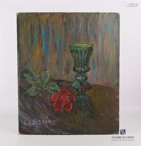 Lot de quatre tableaux comprenant : C. Leclaire Pa…
