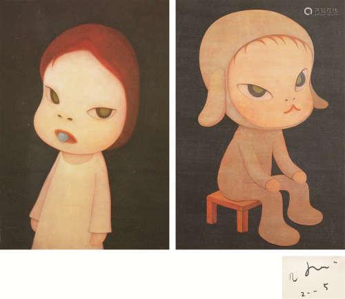 奈良美智(b.1959) 海报 (二幅)
