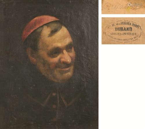 DURAND(18~19世纪) 人物像 油画