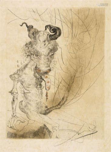 萨尔瓦多·达利(1904~1986) 怪兽