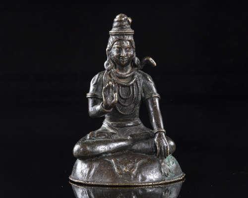 A Nepalese bronze figure