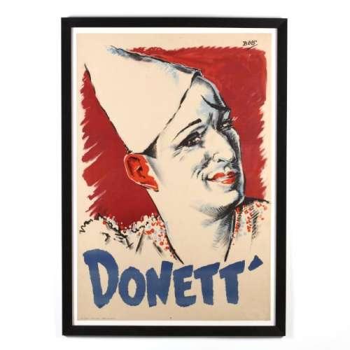 Bois (French, 20th Century),  Donett