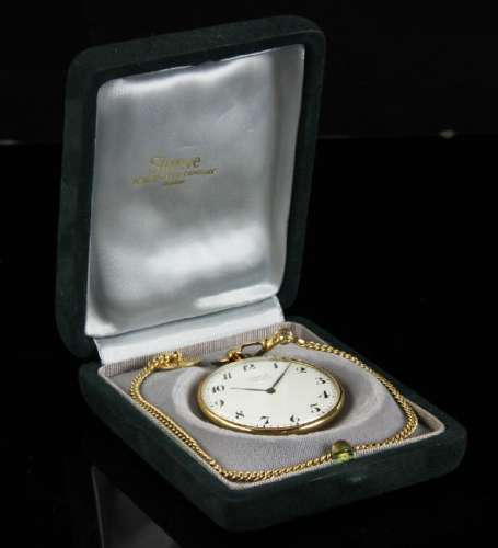 14k Shreve Crump and Low Pocket Watch