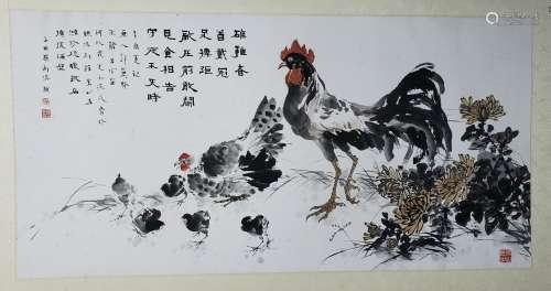 呂裕中 羅博溱等 大吉圖 片